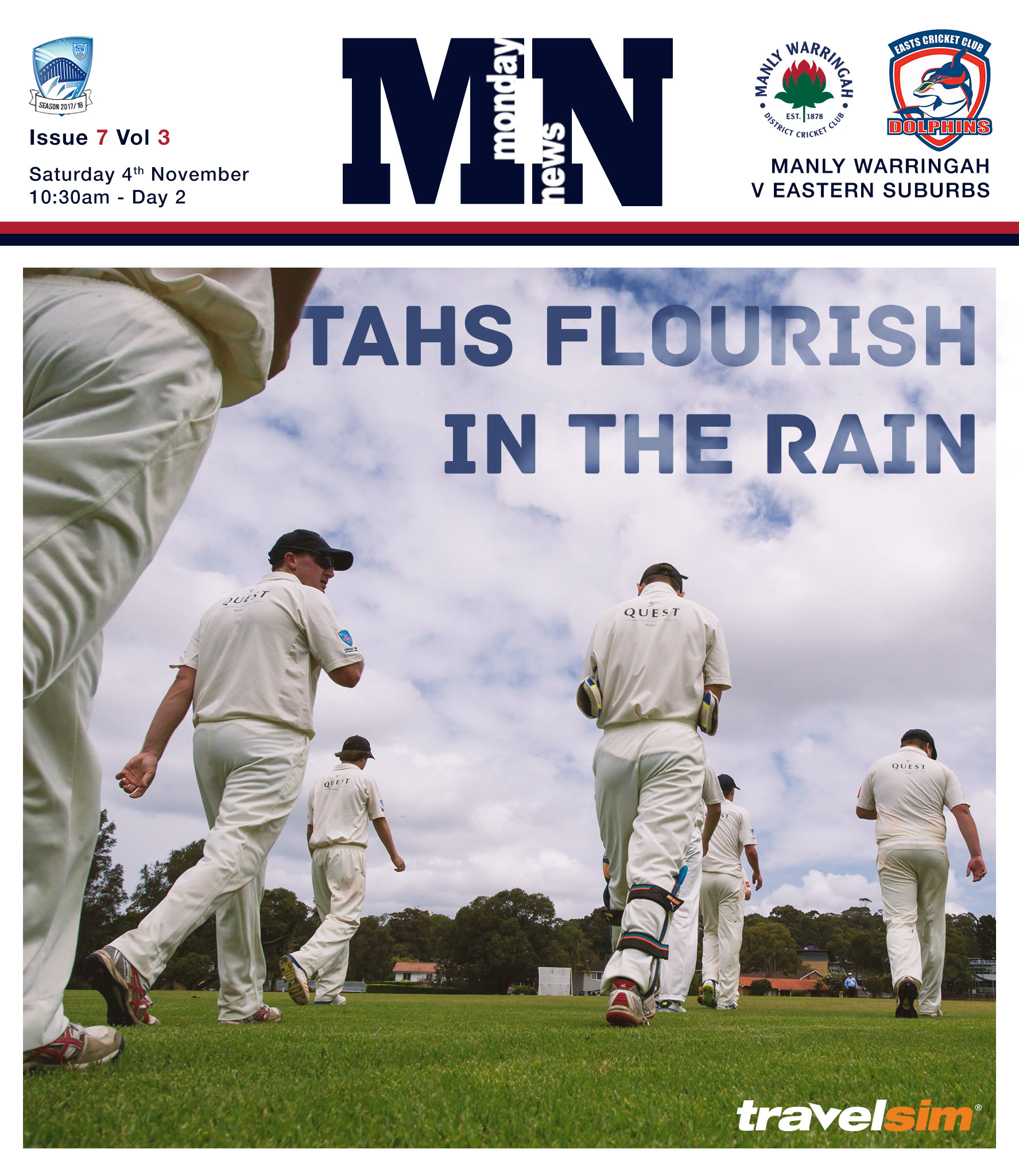Tahs continue to flourish in wet conditions - Monday News